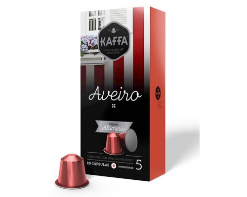 Kaffa Nespresso * Aveiro Aluminum...