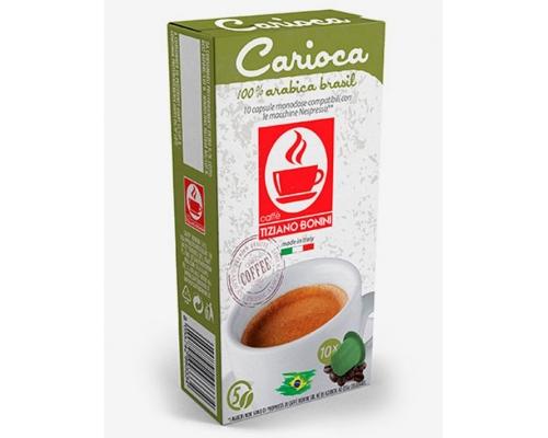 Cápsulas Compatíveis Nespresso Café Bonini Carioca 10 Un