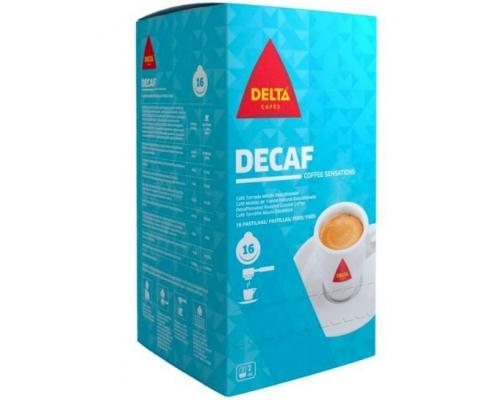 Delta Decaf Coffee ESE Espresso Pods...