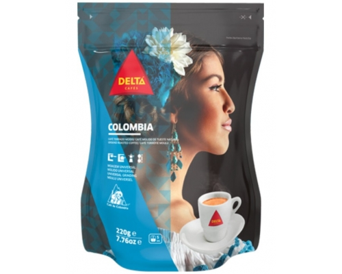 Delta Colombia Ground Roasted Coffee...