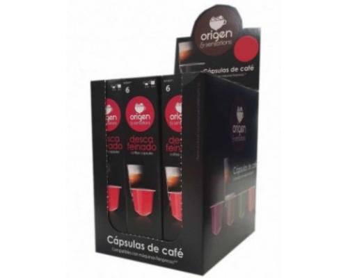 Cápsulas Compatíveis Nespresso Origen Sensations Descafeinado 5 Un