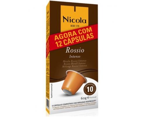 Nicola Nespresso * Cápsulas Café Rossio 12 Un