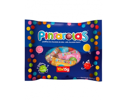 Drageias Chocolate Pintarolas 10 x 15 Gr
