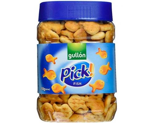 Gullón Mini Fish Pick Cracker 250 Gr