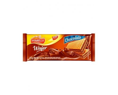 Vitarella Chocolate Wafers 120 Gr