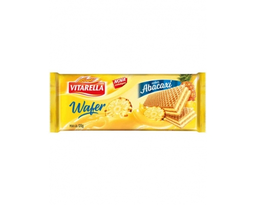 Wafers Abacaxi Vitarella 120 Gr