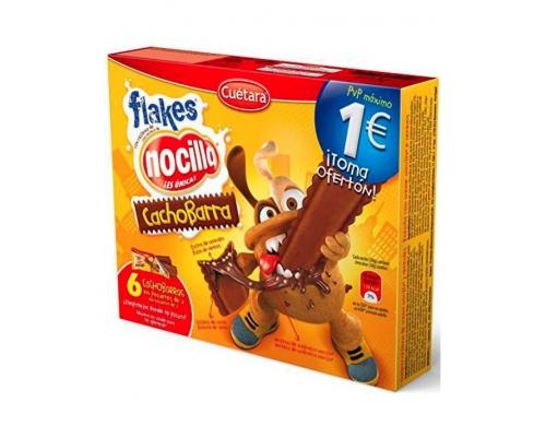 Cuétara CachoBarra Flakes Biscuit 90 Gr