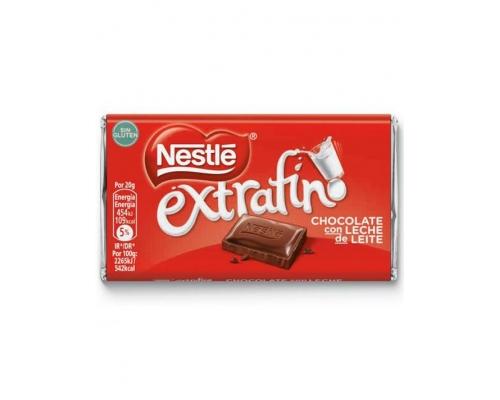 Chocolate Leite Extrafino Nestlé 20 Gr