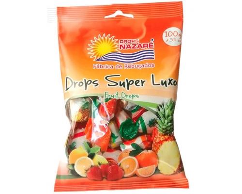 Rebuçados Drops Super Luxo Nazaré 100 Gr
