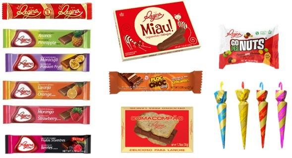 Conteúdo Caixa de Furos Chocolates Regina Foto